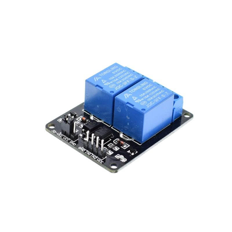 2 Channel 5V Relay Expansion Board Module for Arduino