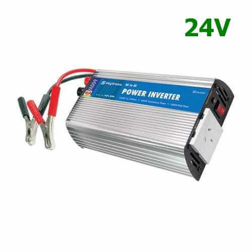 600W Leisure Power Inverter, 24Vdc to 230Vac