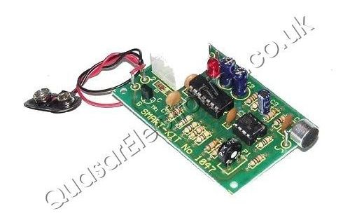Sound Activated Latching Relay Switch