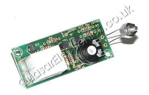 12Vdc Electronic Thermostat Switch (+20 to 70°C)