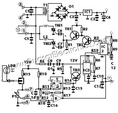 Nice Light Dimmer Circuit Diagram Photos Light Dimmer Circuit