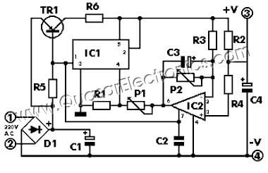 Constant Speed DC Motor Controller, 4-26V 3A