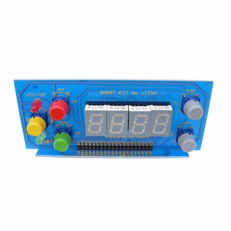4 Digit Up/Down LED Counter (Preset - Memory - 2 Relays - 13mm Digits)