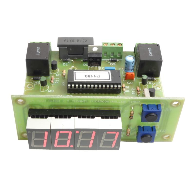 24 Hour Time Clock Relay Switch, 2 Outputs