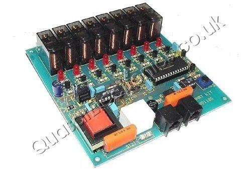 4(8)-Channel Telephone Activated Relay Board