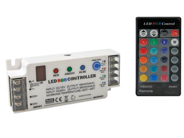 RGB LED Controller with Remote Control