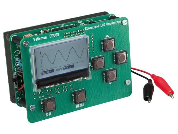 LCD Oscilloscope Educational Kit