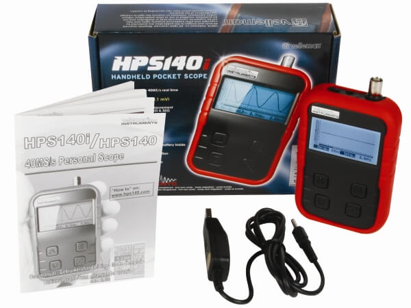 Velleman HPS140 Handheld Pocket Scope 40MS/s | Quasar Electronics UK