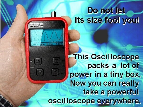 Velleman HPS140i Handheld Pocket Scope 40MS/s, Probe Included | Quasar UK