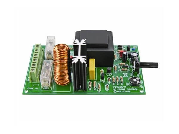 AC Motor Speed Controller Kit, 24...240Vac, 5A