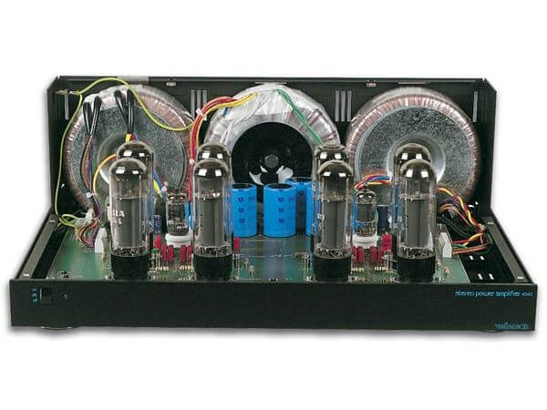 Stereo Valve Amplifier (Black) Electronic Kit