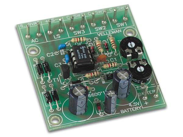 Multitone Chime Electronic Kit