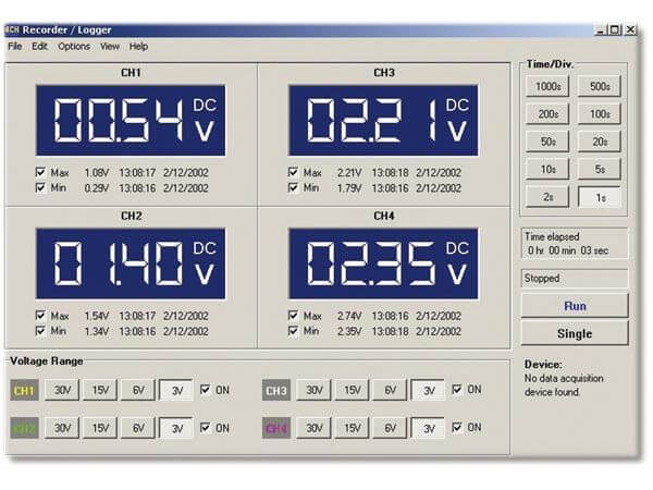 4-Channel Recorder/Logger Module