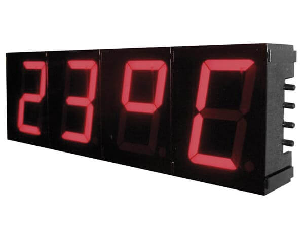 Large 57mm 4-Digit 7-Segment Digital Clock Electronic Kit