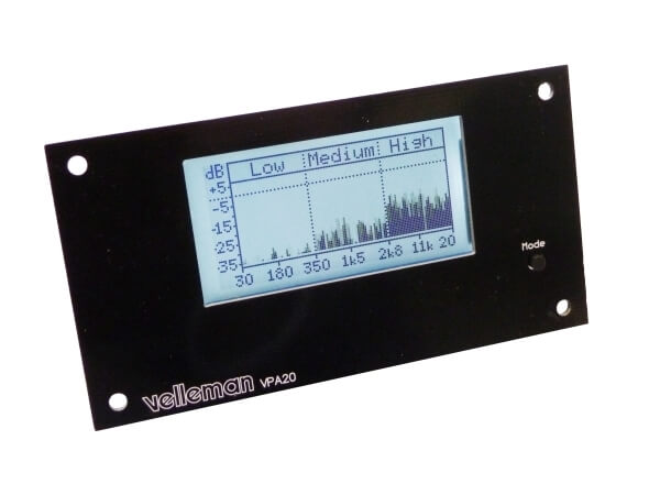Velleman K8098 Audio Analyser Kit | Quasar Electronics UK