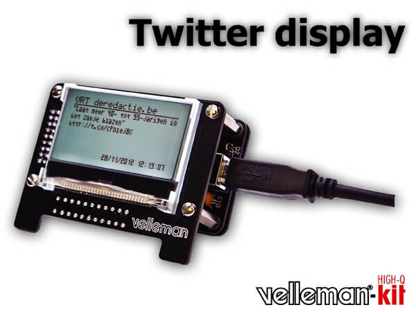 USB Message Board Electronic Kit