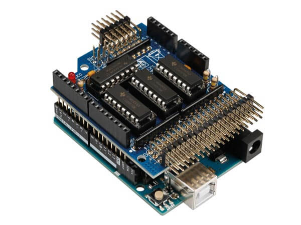 Analogue Input Expansion Shield Kit for Arduino Uno
