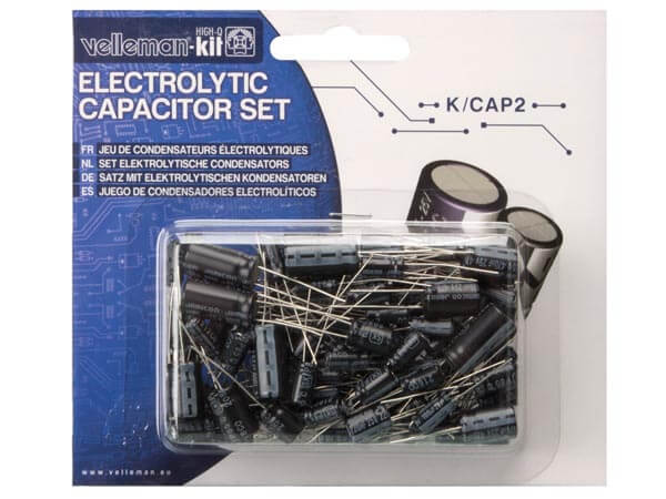 120-Piece Electrolytic Capacitor Set