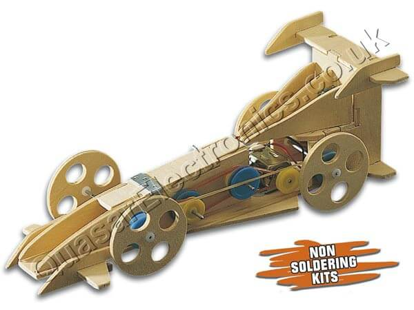 Automech Mechanical Motorised Wooden Kit