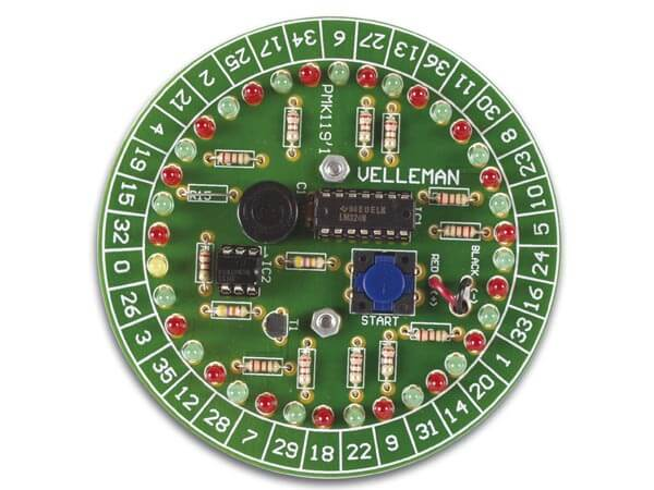 Roulette Electronic Kit