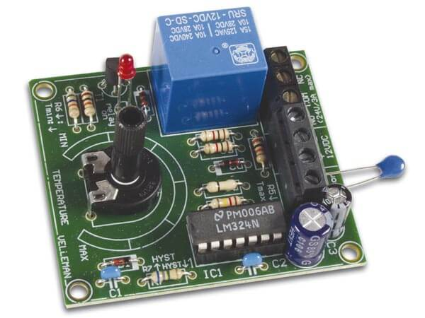 Thermostat Electronic Kit, +5 to 30°C