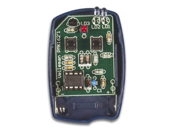 2-Channel IR Remote Transmitter Electronic Kit