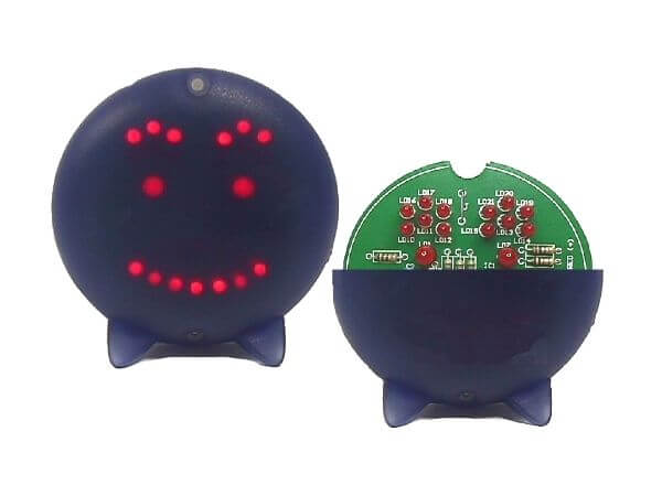 Animated LED Smiley Electronic Kit