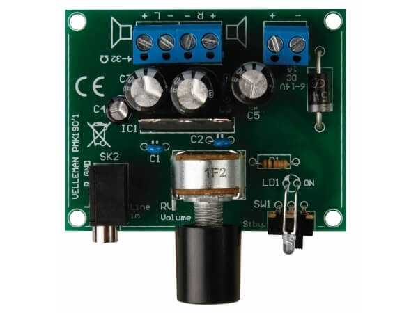 MP3 Player 2 x 5W Stereo Audio Amplifier Electronic Kit