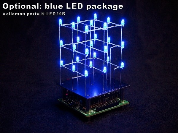 Pack of 30 x 3mm Blue LEDs