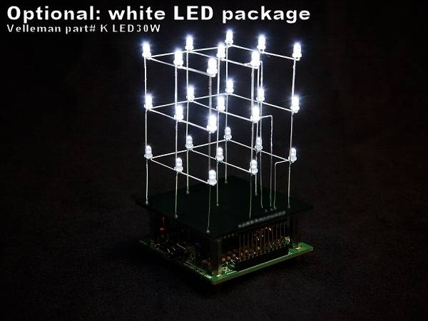 Pack of 30 x 3mm White LEDs