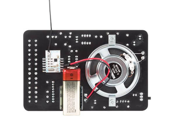 Digitally Controlled FM Radio Electronic Kit