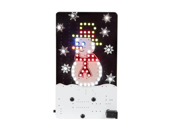 Snowman Flashing LED Electronic Kit