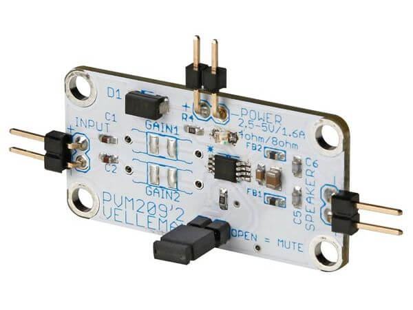 Class D 2.8W Mono Audio Amplifier Mini Module