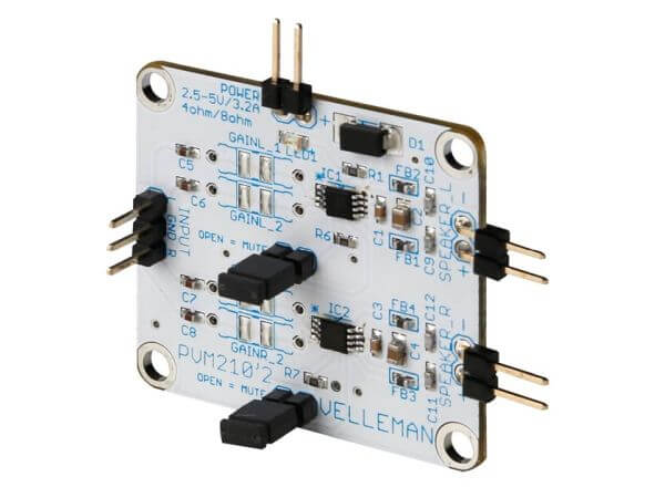 Class D 2.8W Stereo Audio Amplifier Mini Module