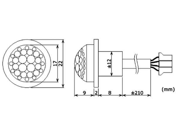 velleman pir416 12vdc mini pir motion detector module