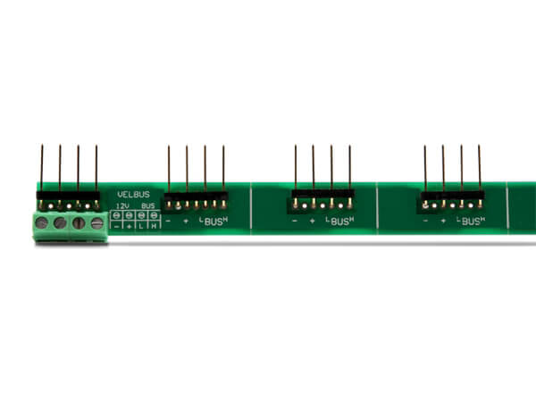 Velleman VMBRAIL Velbus Interconnection Rail | Quasar Electronics UK