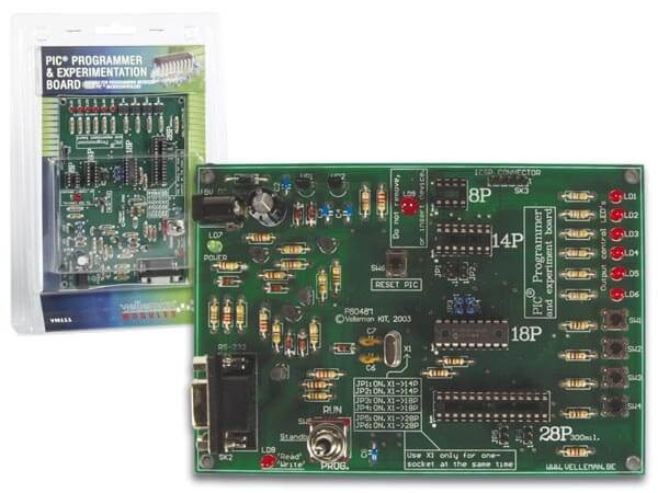 ASSEMBLED PIC Programmer and Experimenter Board