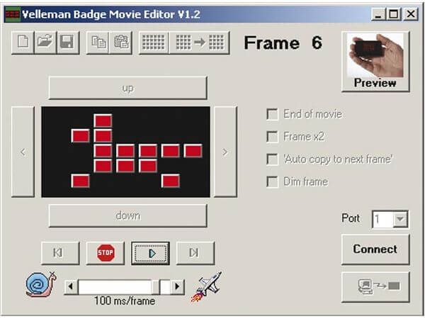 Personal Animated Badge Module