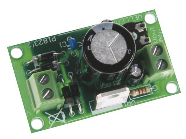 1.5-35V, 1A Regulated Variable Power Supply Module