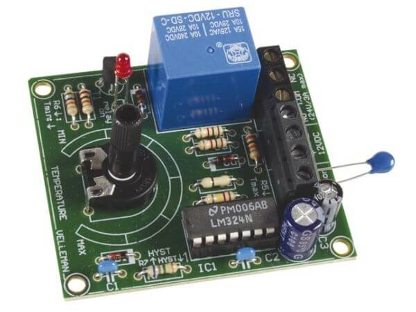 12Vdc Thermostat Module, +5 to +30°C