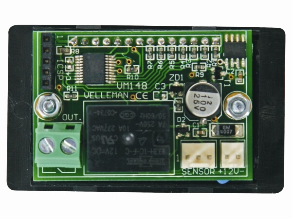 Digital Panel Thermostat Module, -18°C to + 60°C