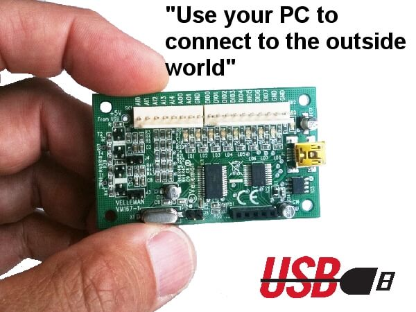 Mini USB Interface Board Module