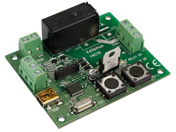 USB Programmable Universal Relay Timer Module
