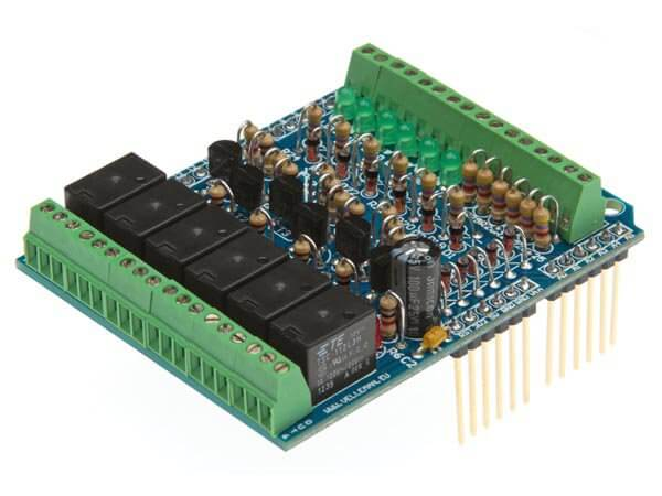 Assembled I/O Shield for Arduino UNO