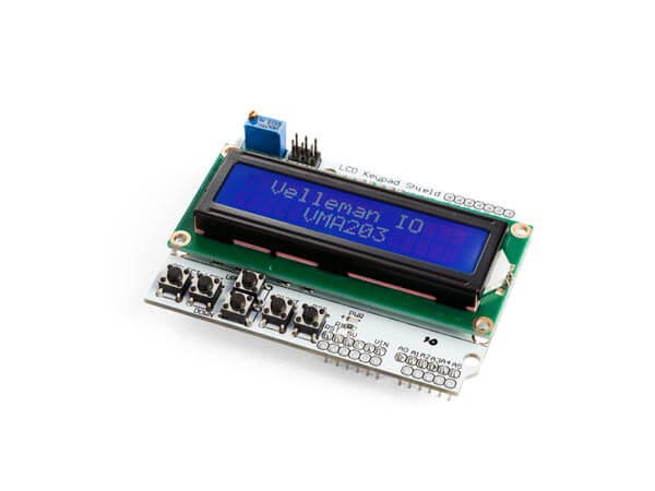 Assembled LCD & Keypad Shield for Arduino