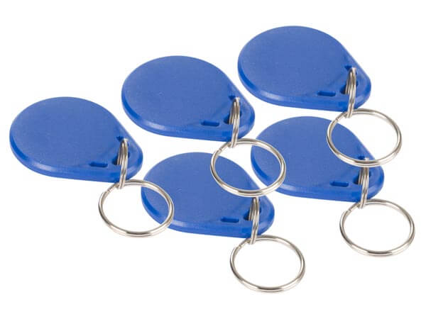 MiFare RFID Fobs (Pack of 5)
