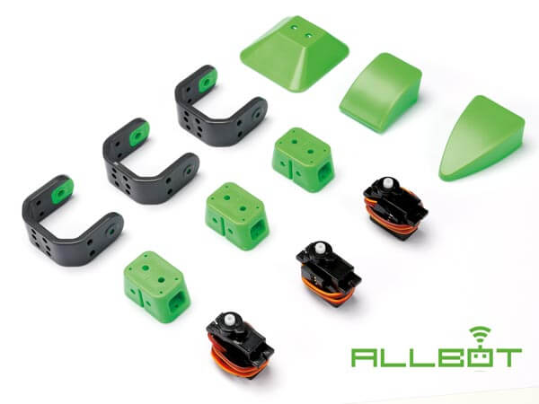 Velleman VR013 AllBot 3-Servo Leg Option | Quasar Electronics UK