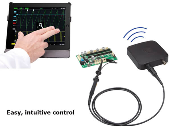 2-Ch WLAN Digital Storage Oscilloscope