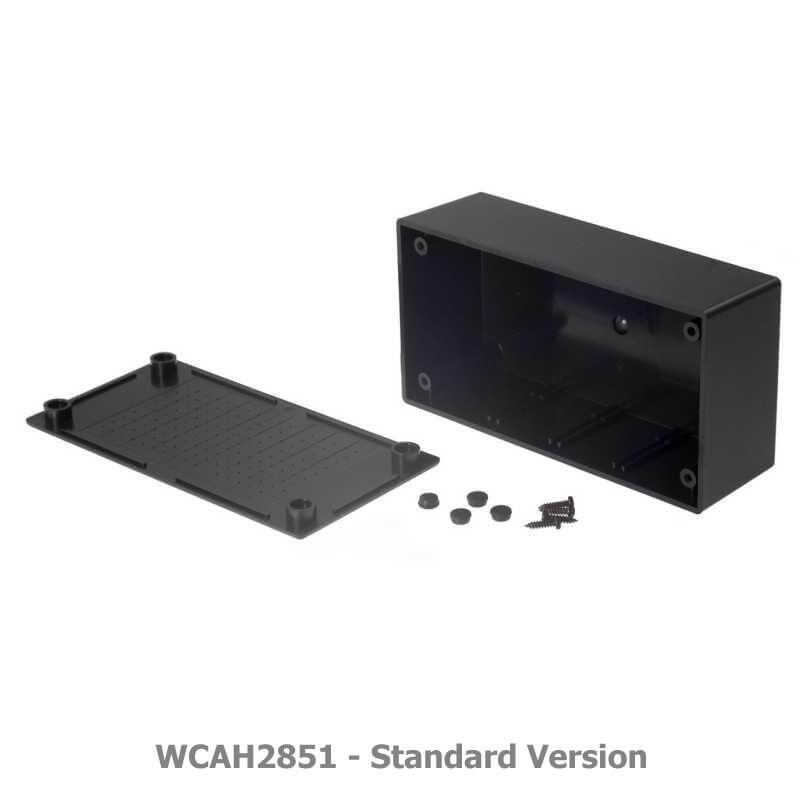 Multipurpose ABS Enclosure, Black - 157 x 95 x 53mm