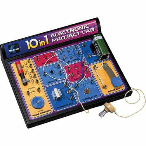 10 in 1 Electronic Project Lab Kit (MX-802)